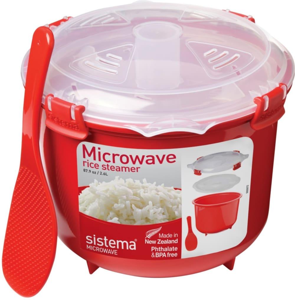 Pojemnik Microwave do gotowania ryżu 2.6 L Sistema