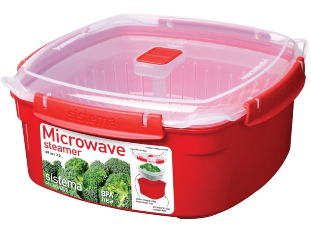 Parowar do gotowania w mikrofalówce 2,4 L Sistema