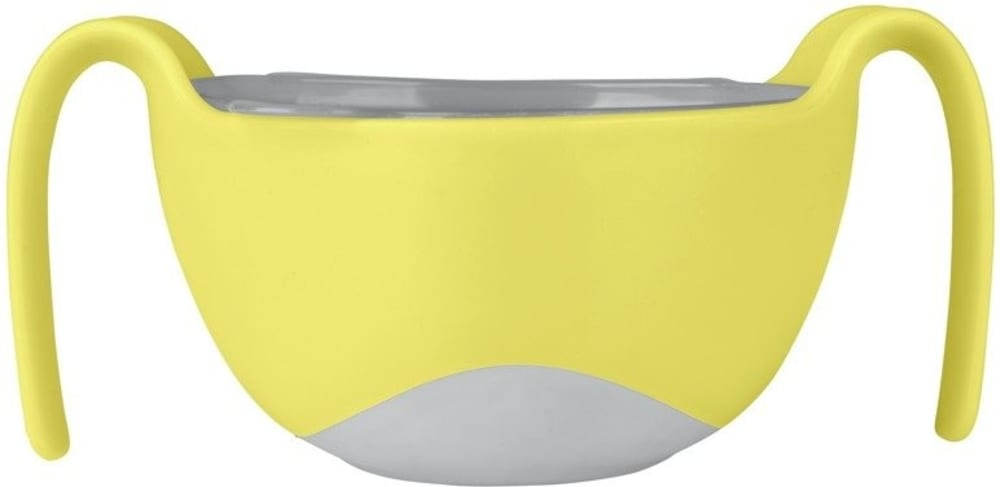 Wielofunkcyjny kubek niewysypek do karmienia dla dzieci, Lemon Sherbet, b.box