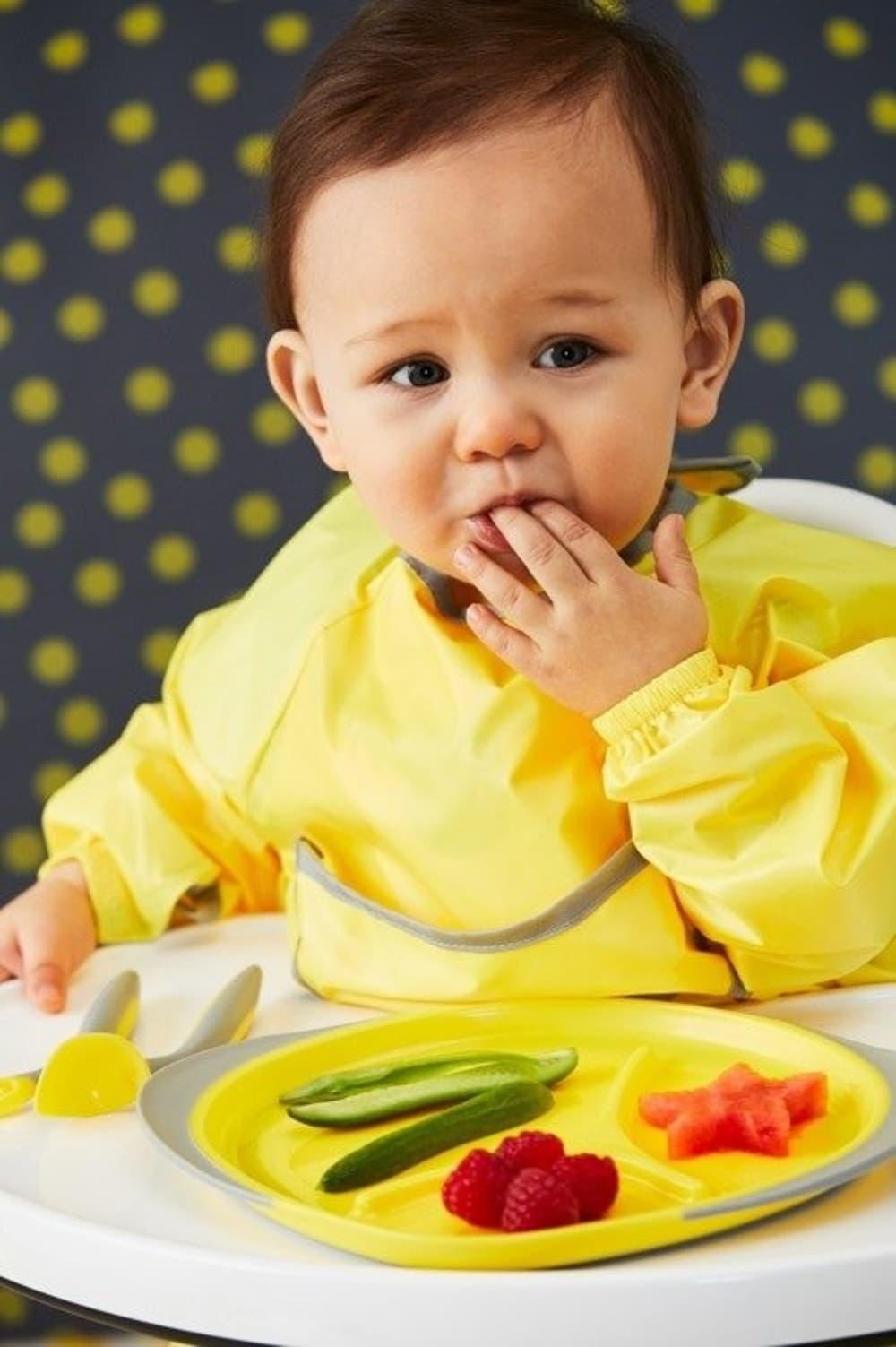 Trójdzielny talerzyk b.box - lemon sherbet