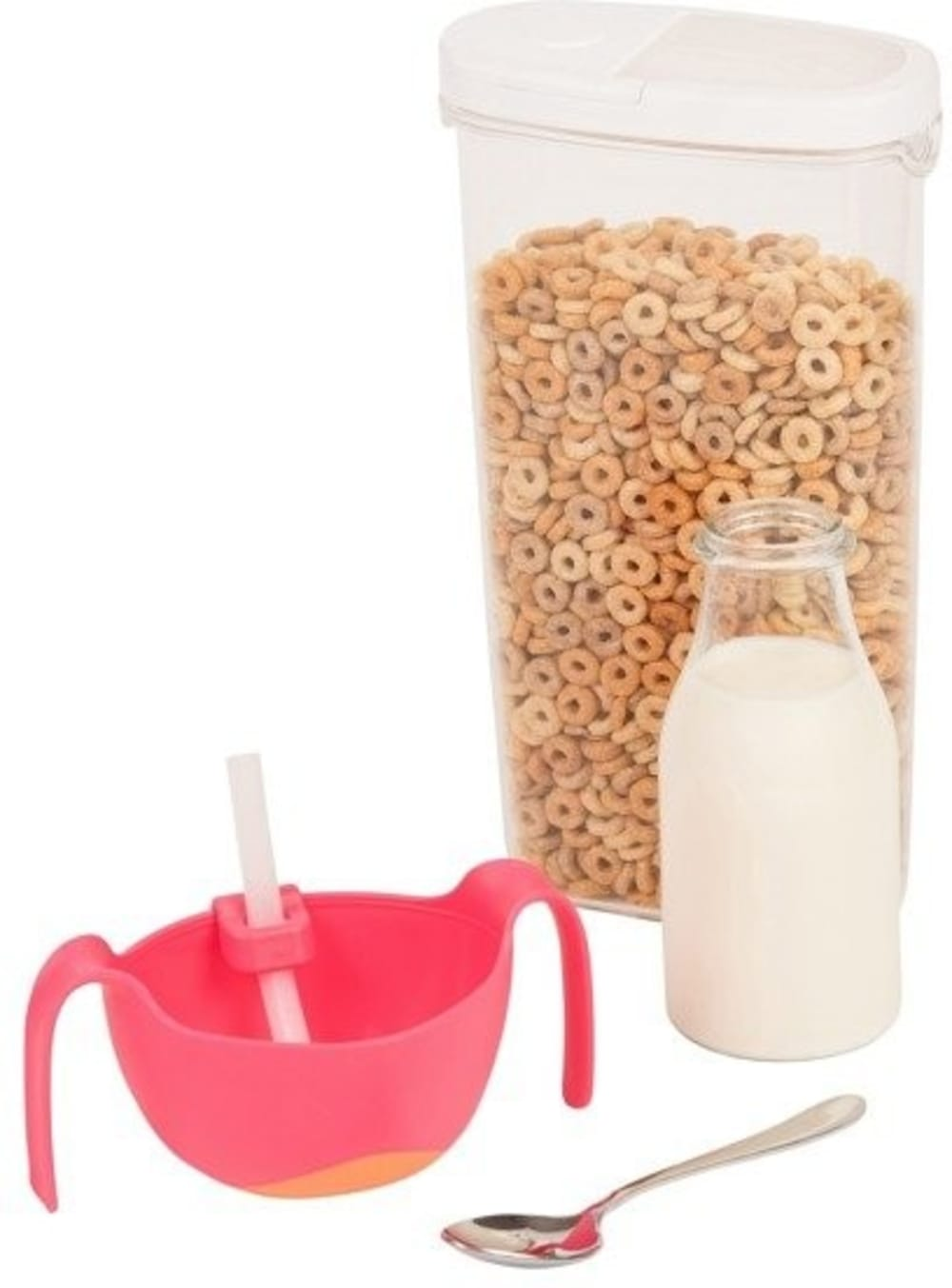 Miseczka ze słomką b.box - strawberry shake