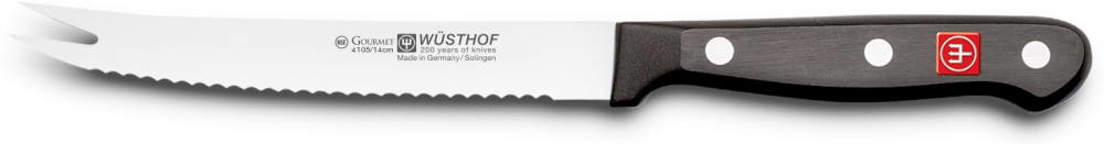 GOURMET Nóż do pomidorów/cytrusów 14 cm