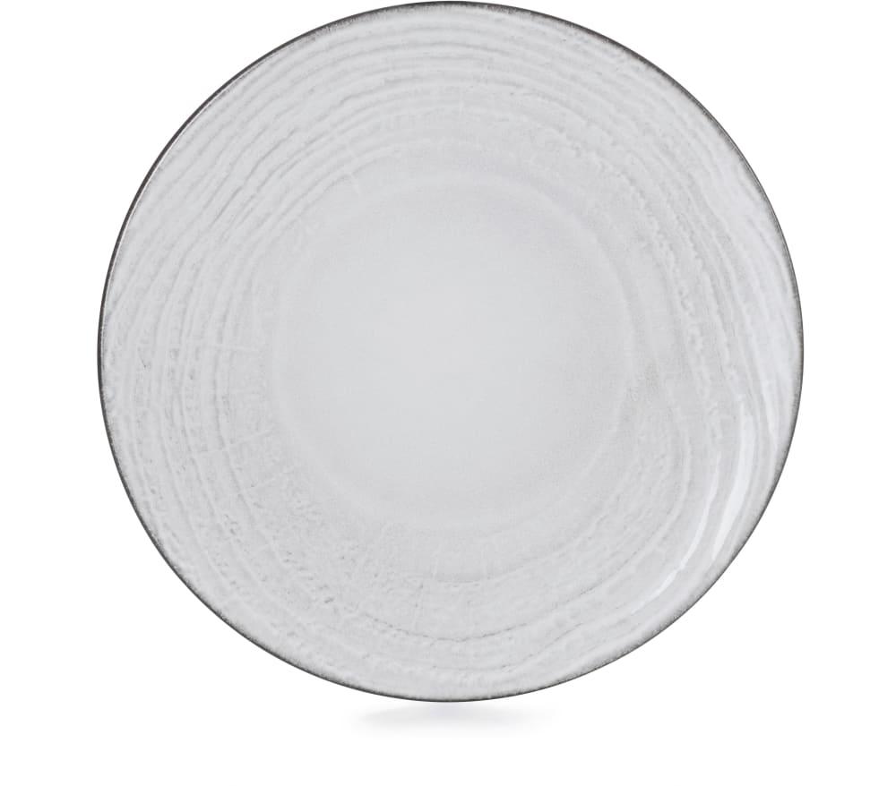 SWELL Talerz płaski 21,5 cm biały piasek