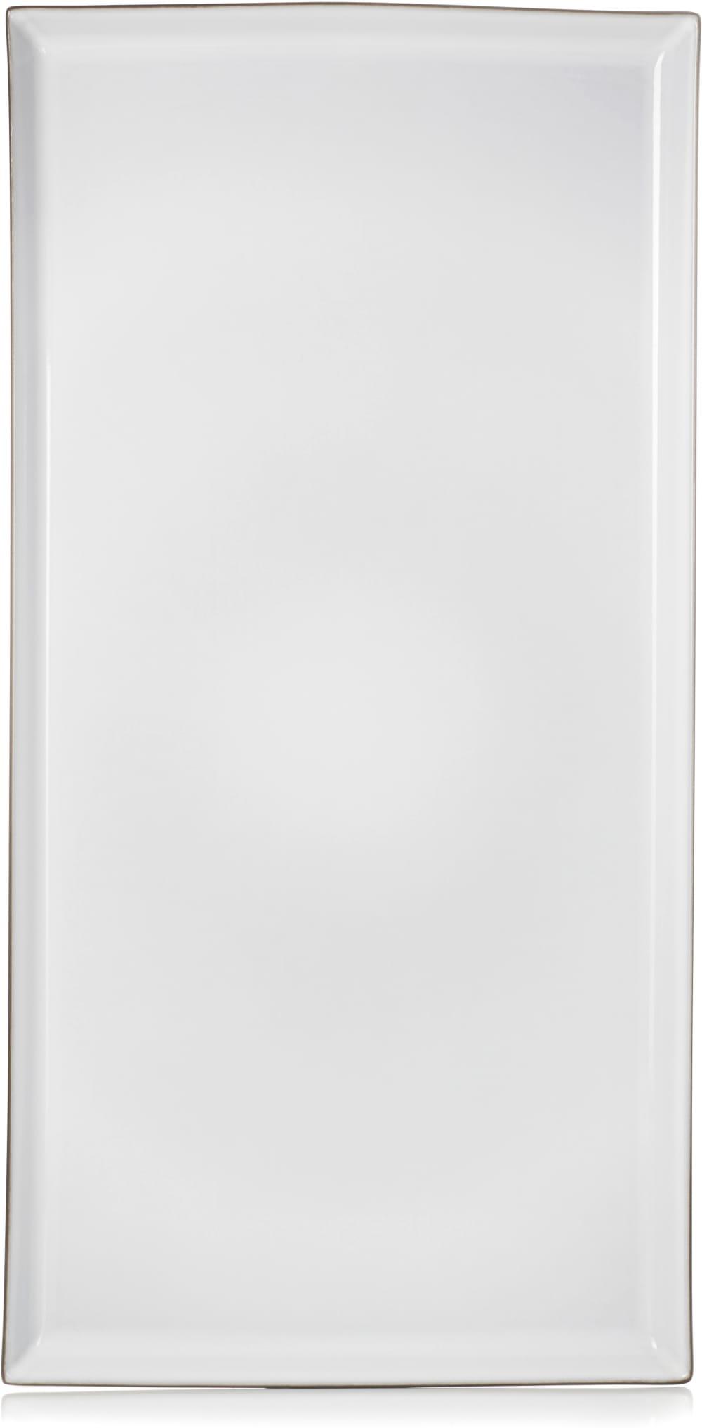 EQUINOXE Półmisek 55,5x28 cm biały