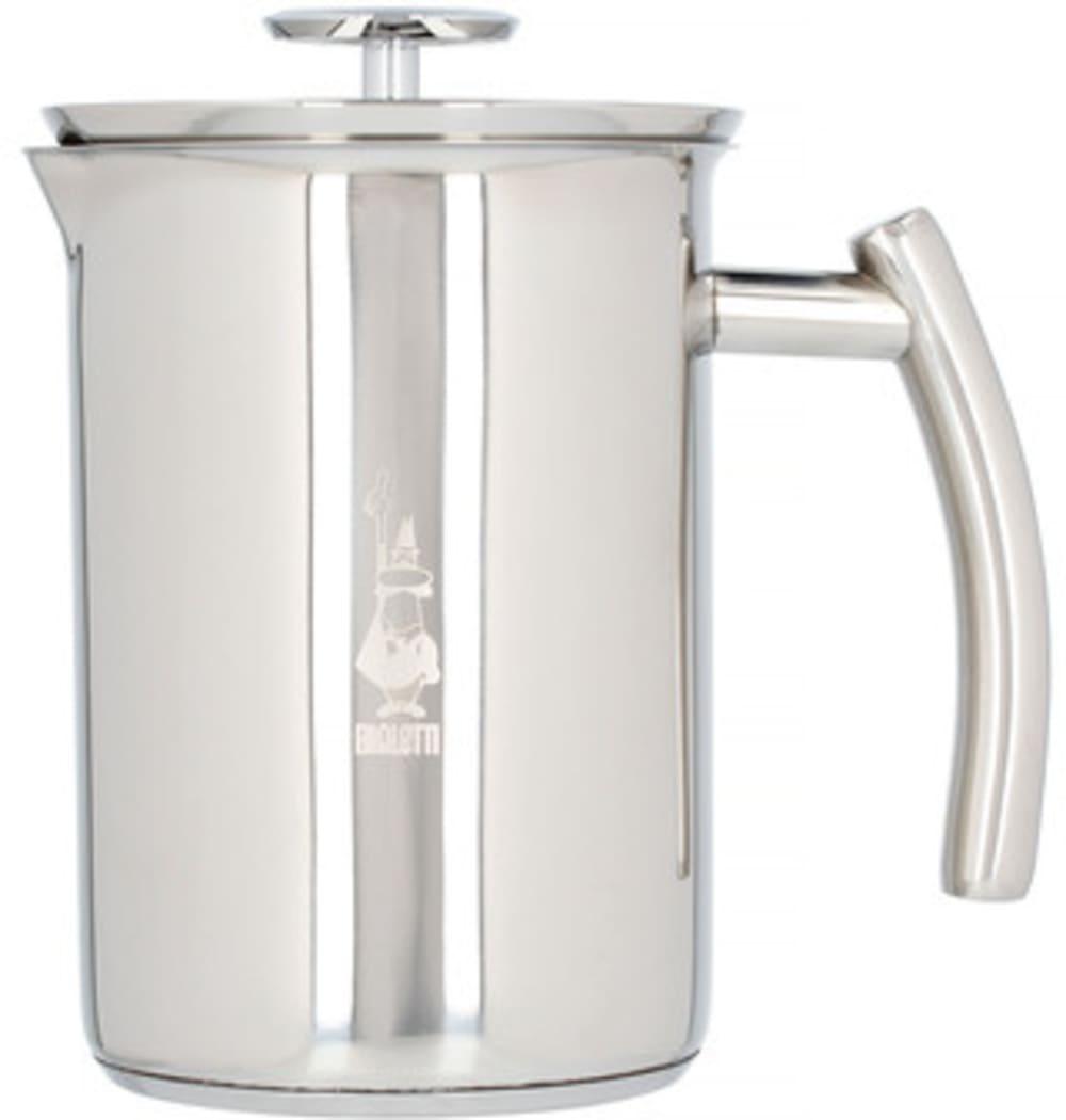Ręczny spieniacz do mleka - Bialetti Cappuccinatore Acciaio 330 ml