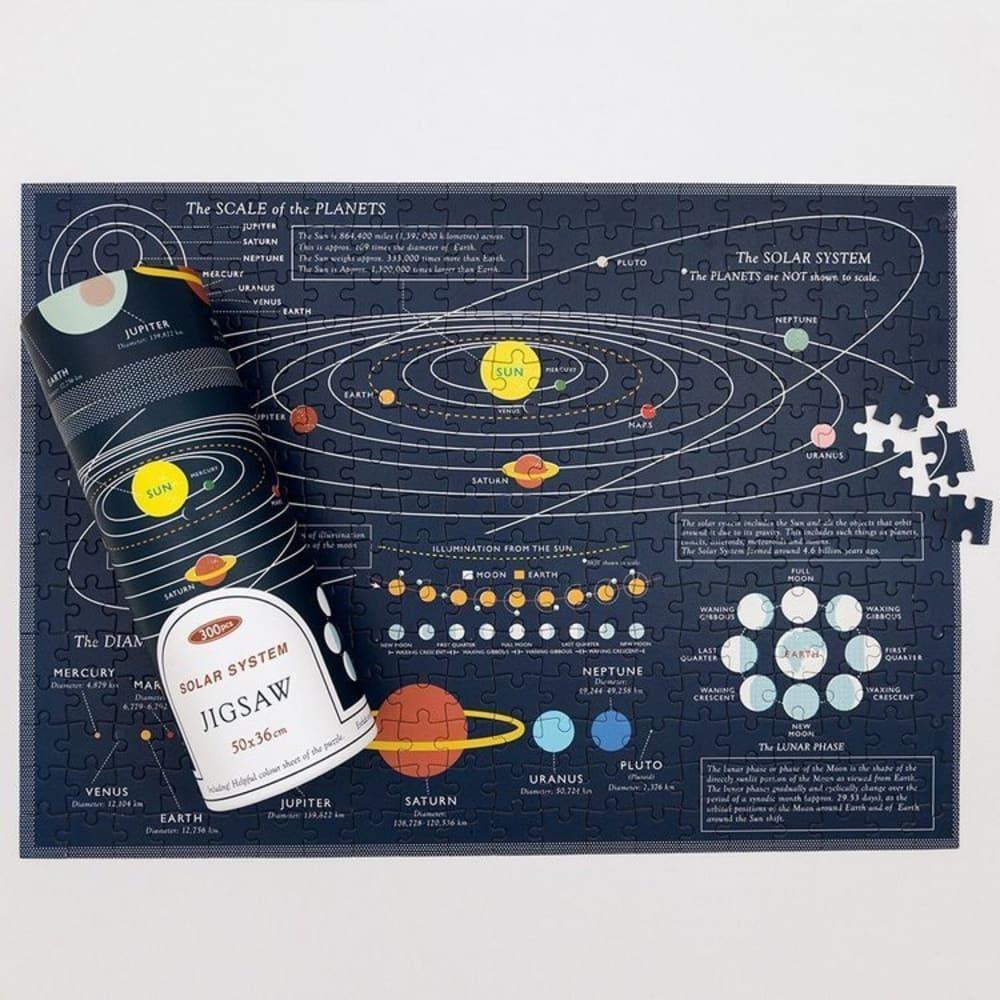 Puzzle w tubie, Kosmos