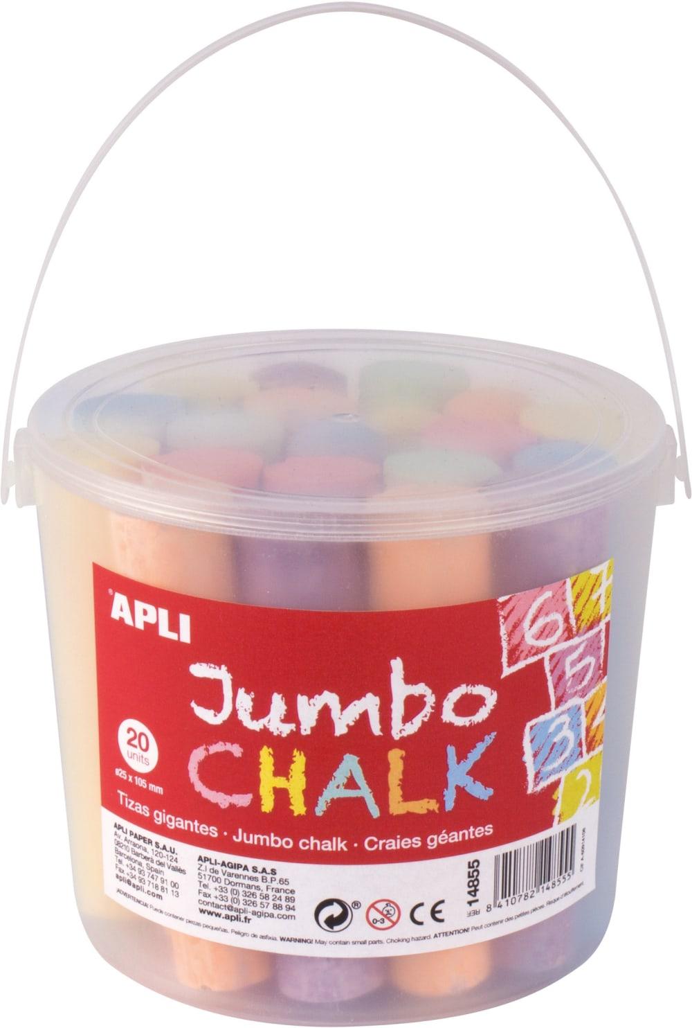 Kredy Jumbo Apli Kids - 20 sztuk