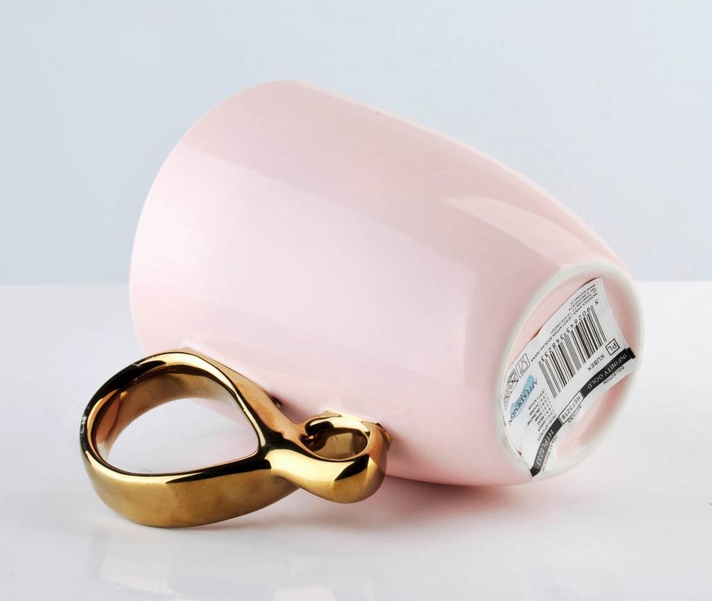 Kubek Infinity gold pink 370 ml