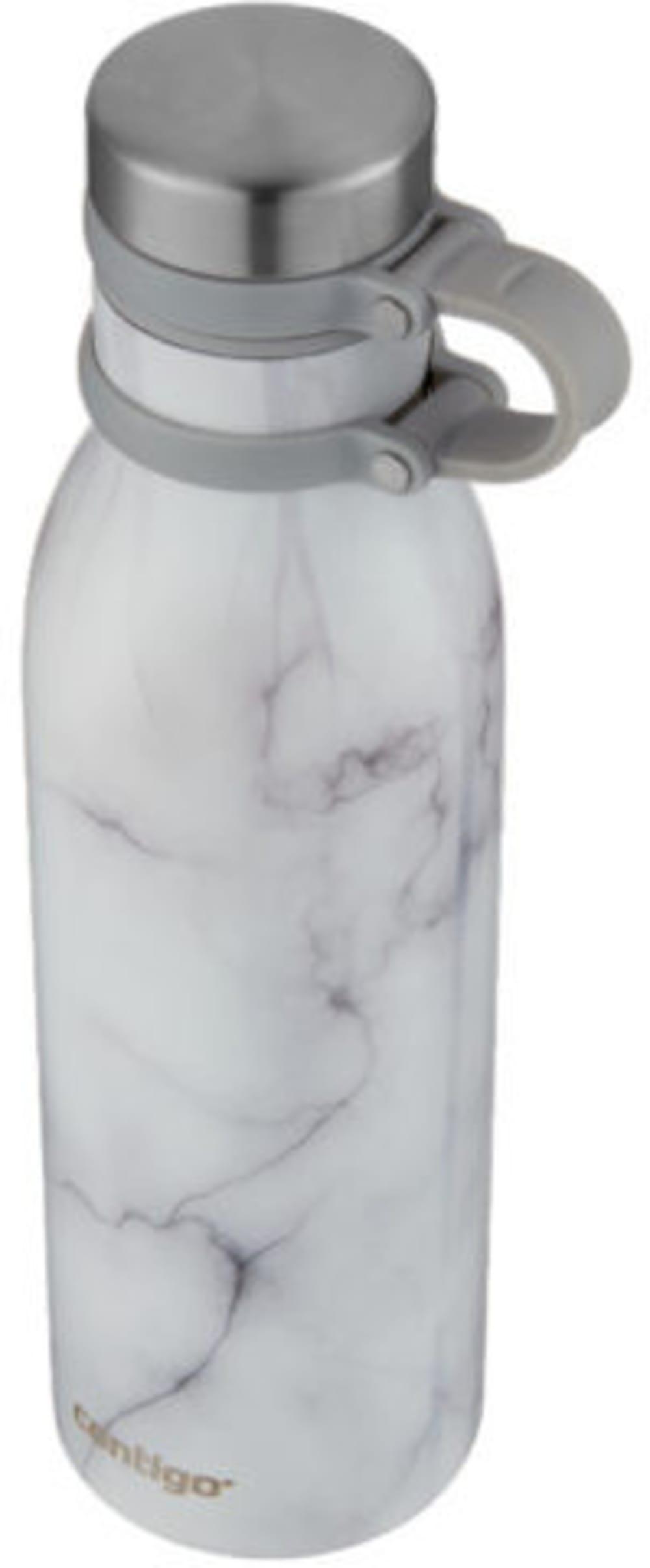 Butelka Matterhorne Couture Vacuum Insulated white marble 590 ml
