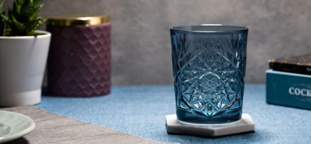 Hobstar szklanka 35,5 cl blue