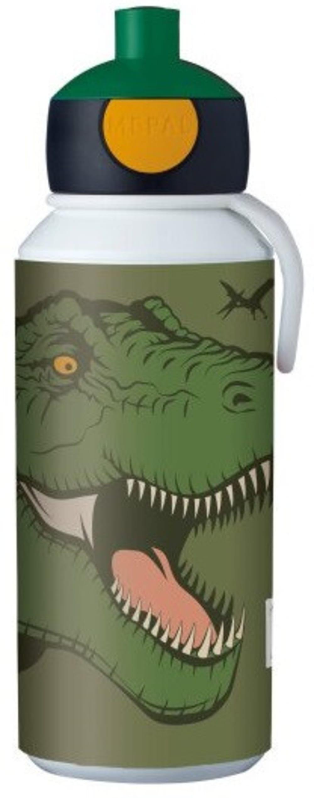 Mepal Zestaw butelka i lunchbox + widelczyk dla dziecka Dino
