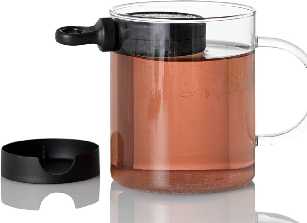Magnetyczny zaparzacz do herbaty MagTea czarny