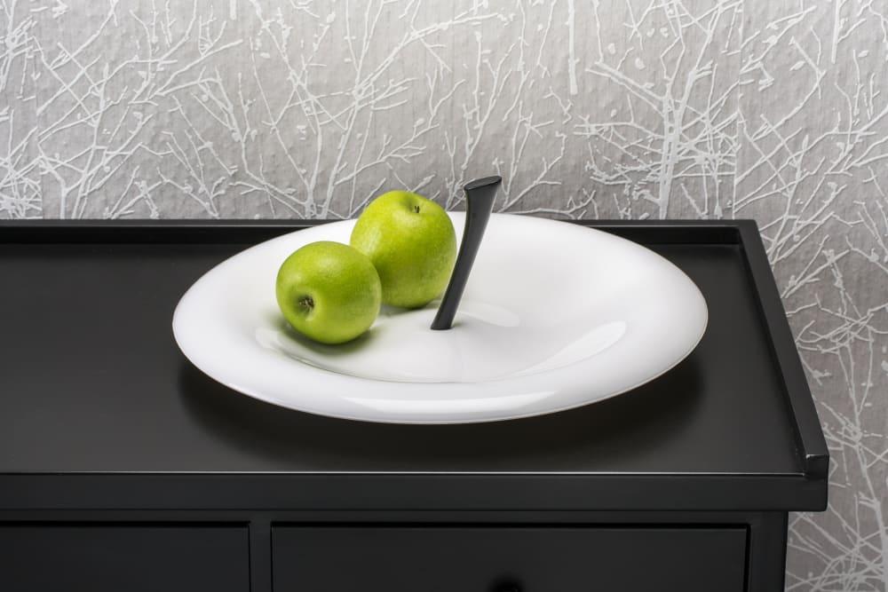 Patera na owoce Big Apple szara