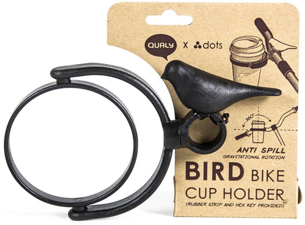 Uchwyt rowerowy na kubek Bird Bike czarny