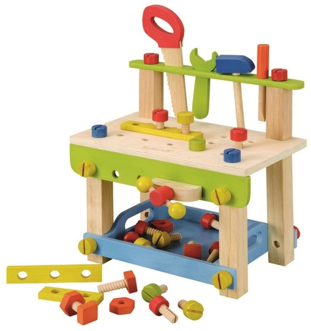 Warsztat drewniany do zabawy