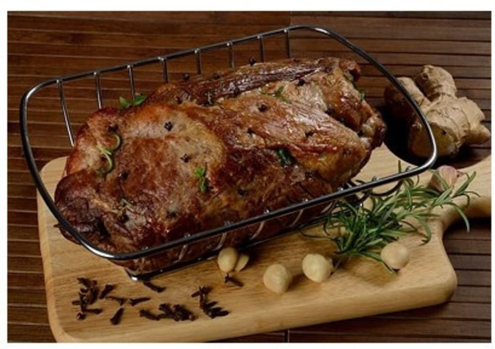 Stojak do grillowania mięs, steków