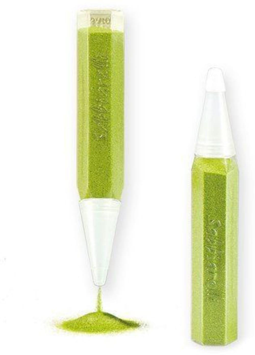 Magiczny piasek do kolorowania, pojedynczy pisak, zielony, 3l+