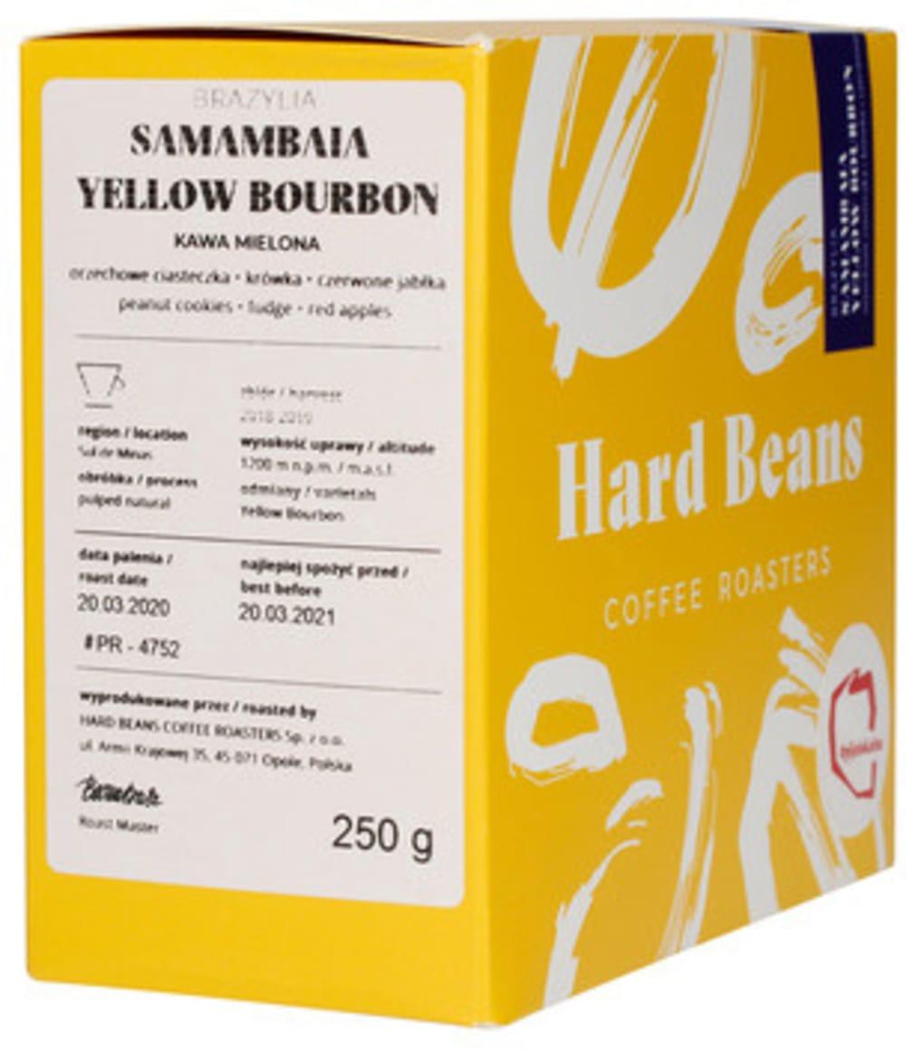 Brazylia Samambaia Yellow Bourbon - Kawa mielona