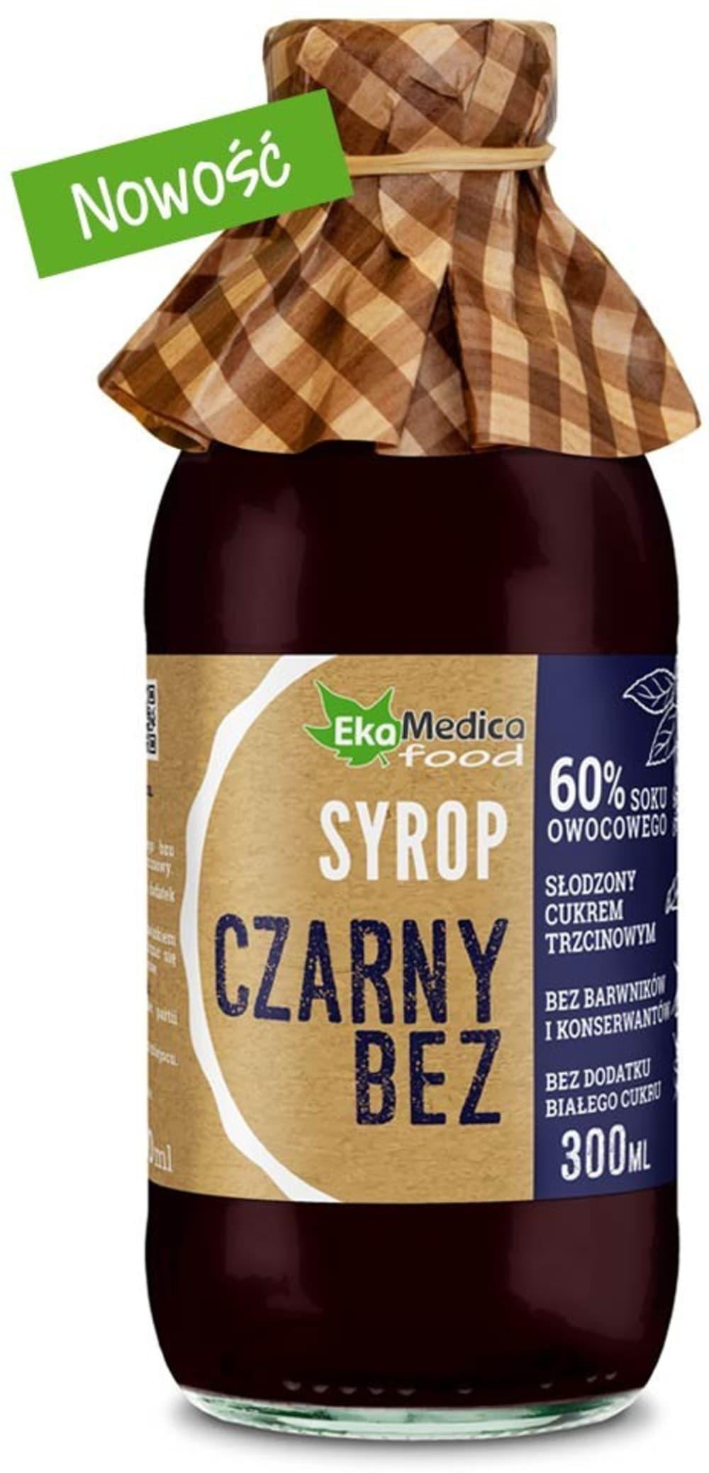 Syrop Czarny Bez 300ml