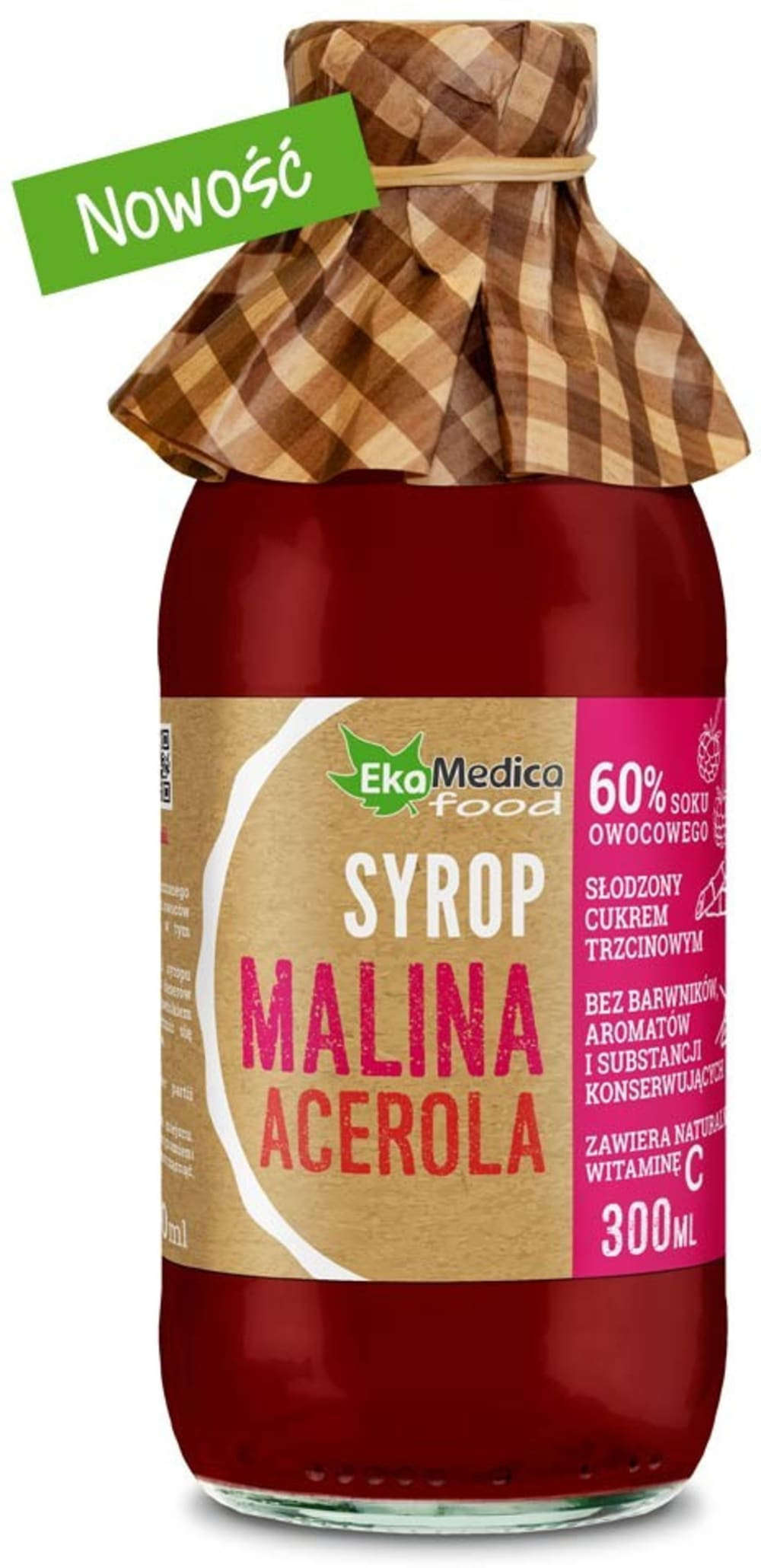 Syrop Malina Acerola 300ml