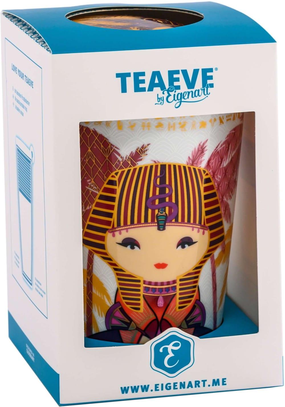 Kubek z zaparzaczem TeaEve Little Egypt Lilac 350 ml