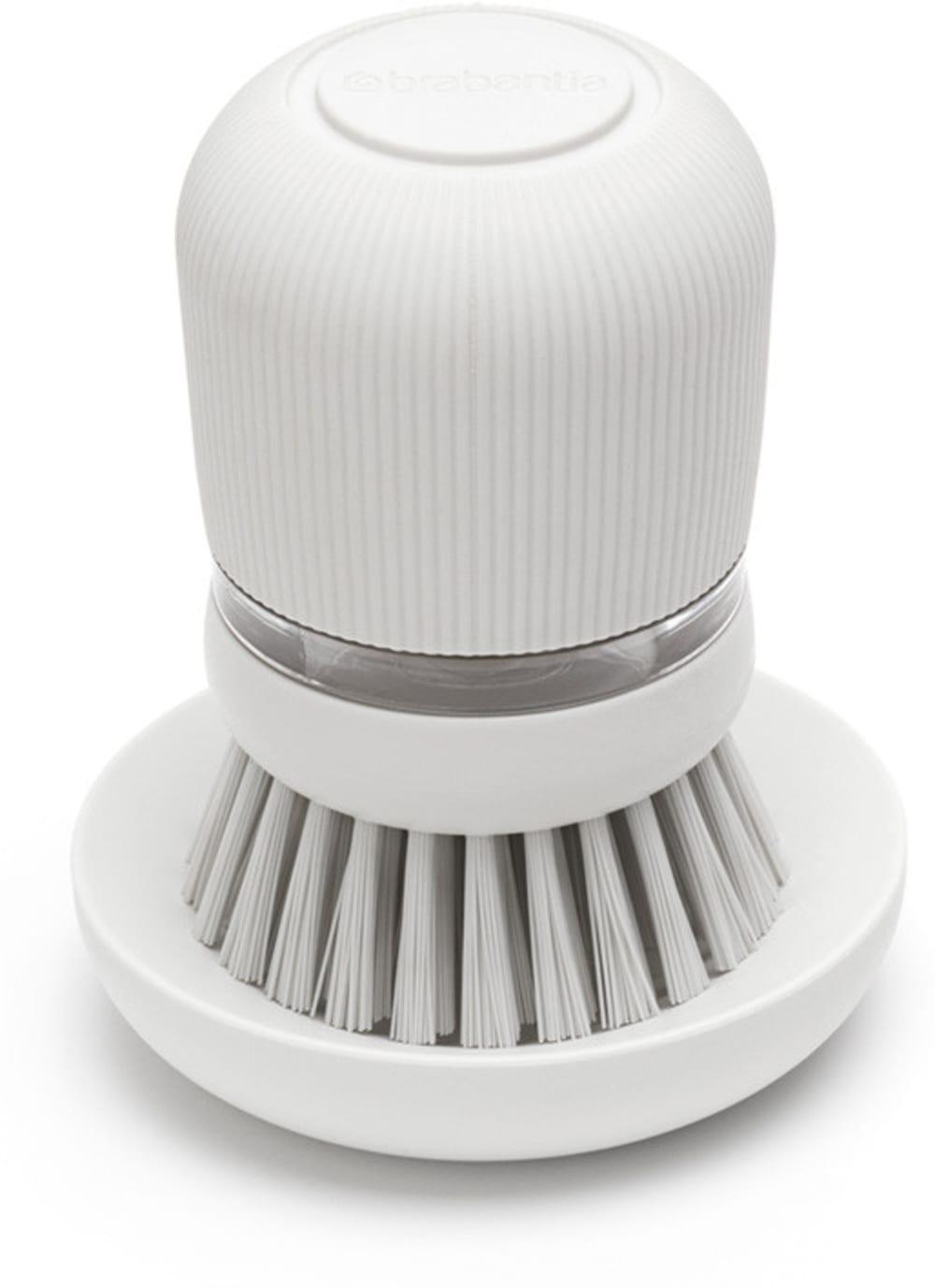 Brabantia szczotka z dozownikiem na płyn SinkSide jasnoszara