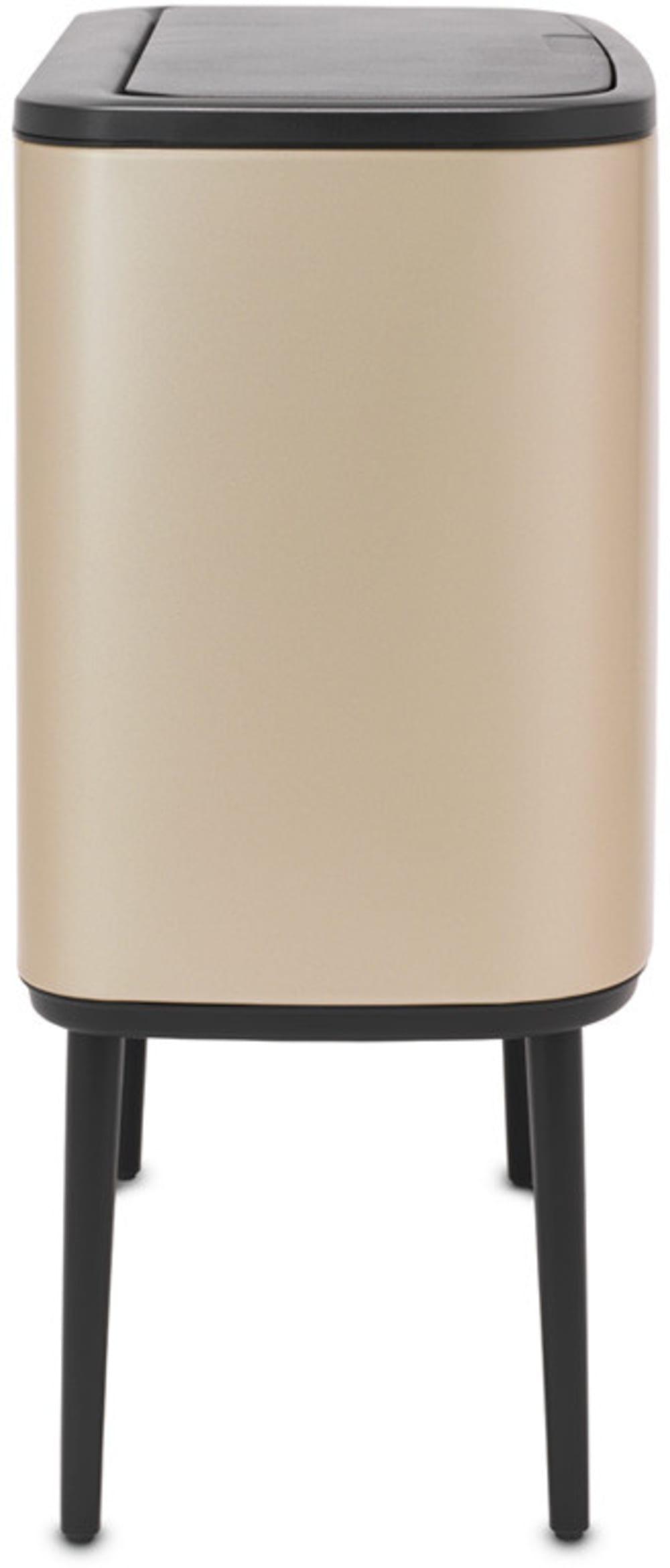Brabantia kosz na śmieci Touch Bin Bo szampański 3 x 11L