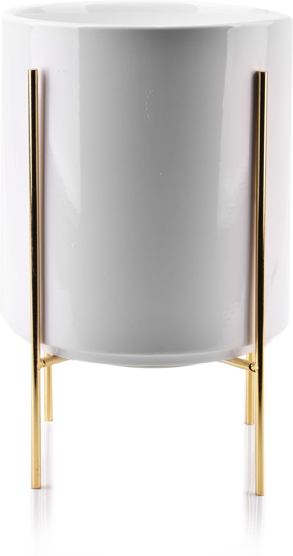 Doniczka biała 17,8x20,8 cm Neva