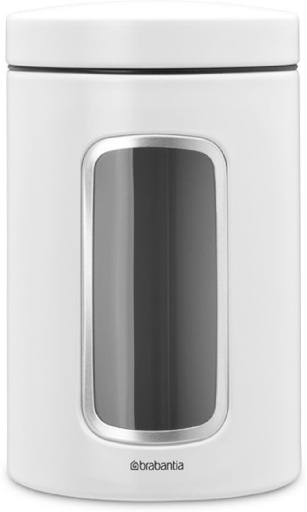 Brabantia pojemnik z okienkiem biały 1.4 l