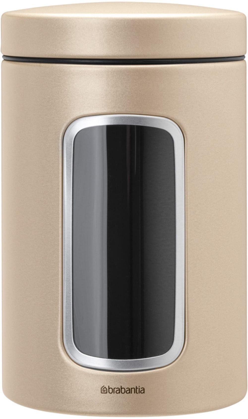 Brabantia pojemnik z okienkiem szampański 1.4 l