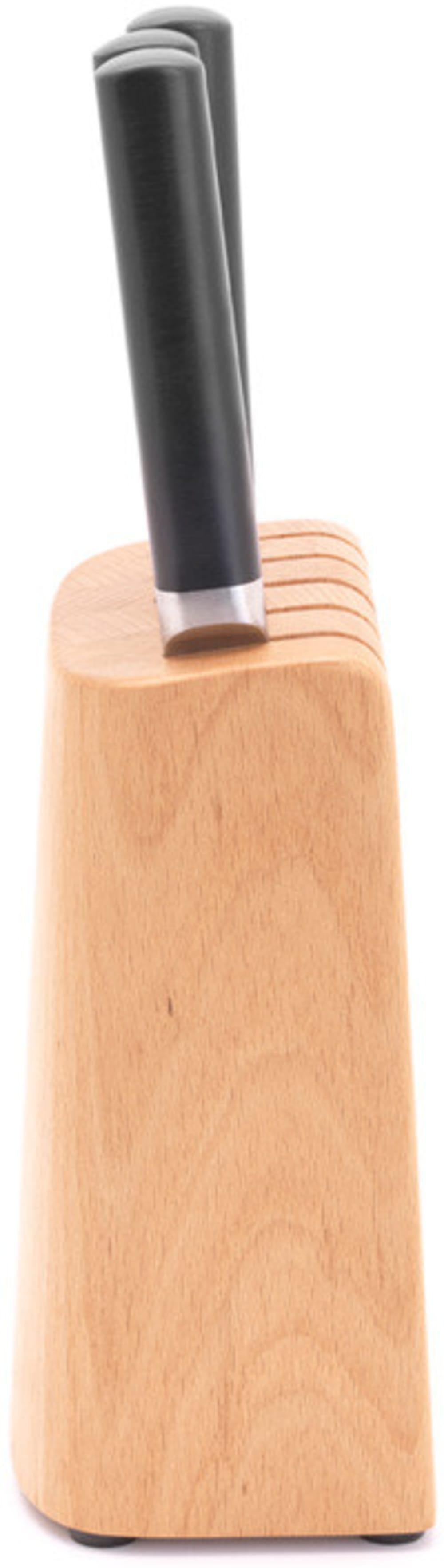 Brabantia zestaw 5 noży w drewnianym bloku Profile