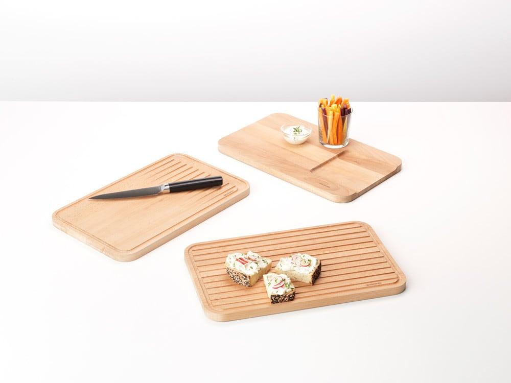 Brabantia Zestaw 3 desek drewnianych Profile