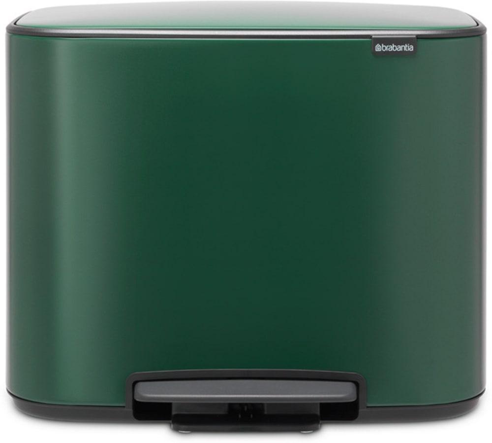 Brabantia kosz pedałowy BO zielony Pine 3x 11 l