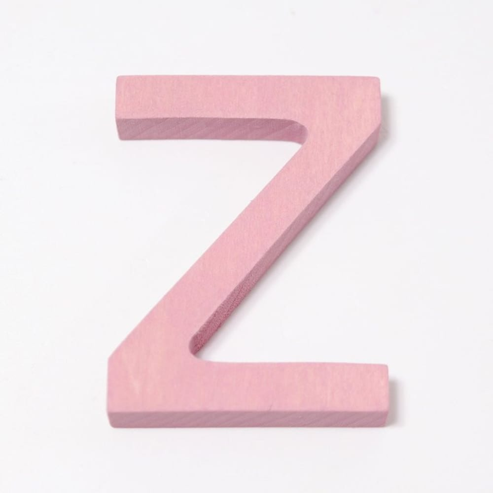 Drewniana litera Z