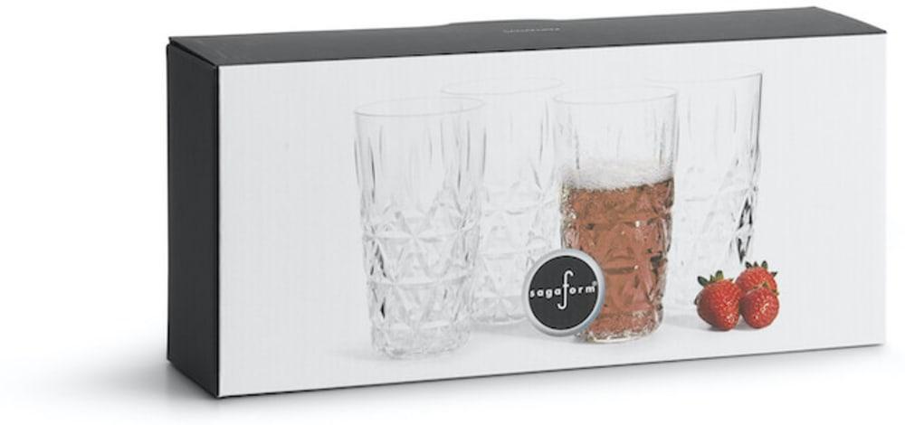 Kubeczki piknikowe, akryl 7,5 x 13 cm, 0,4 l 4 szt.