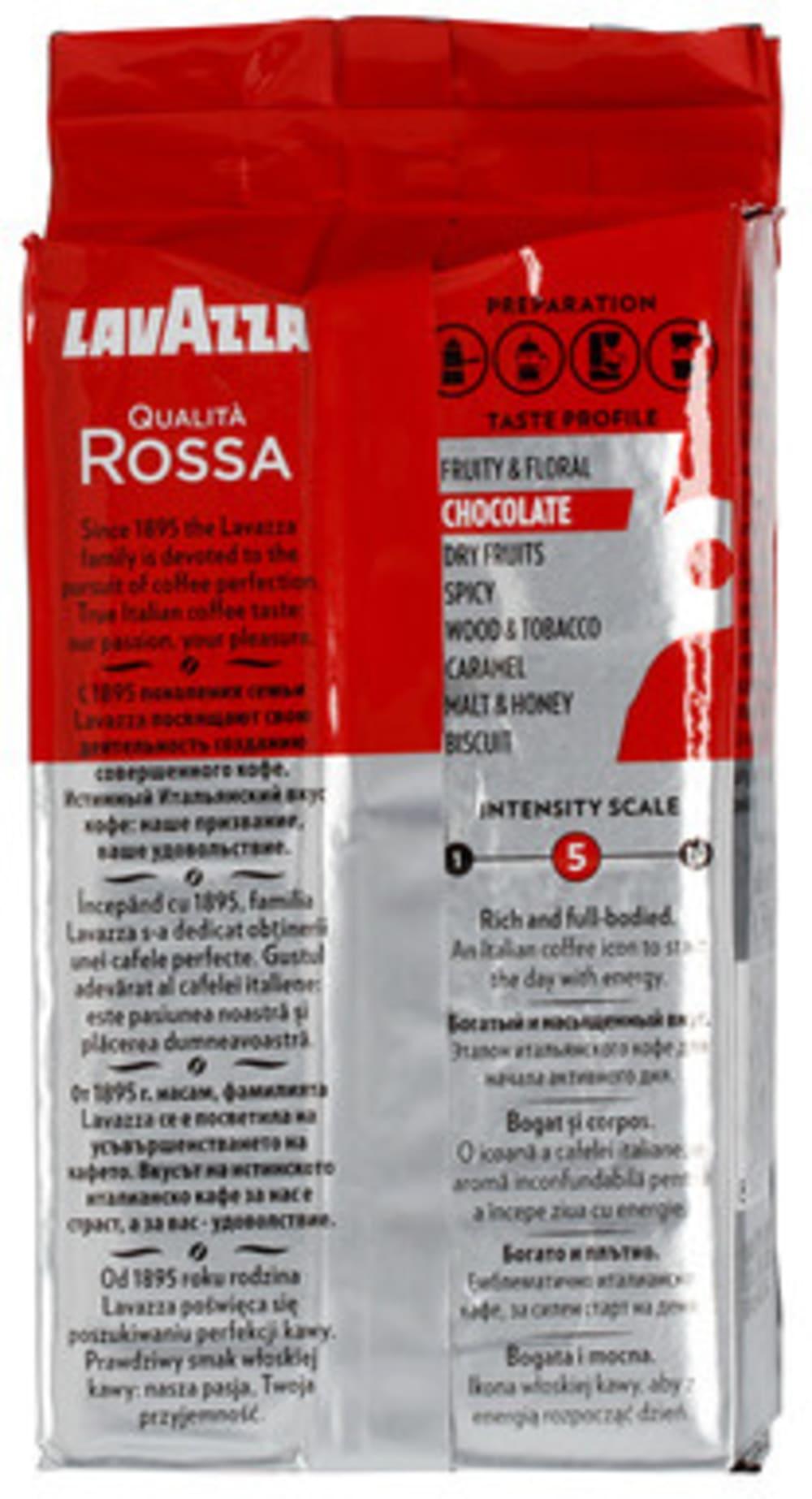 Kawa mielona 250g Lavazza Qualità Rossa