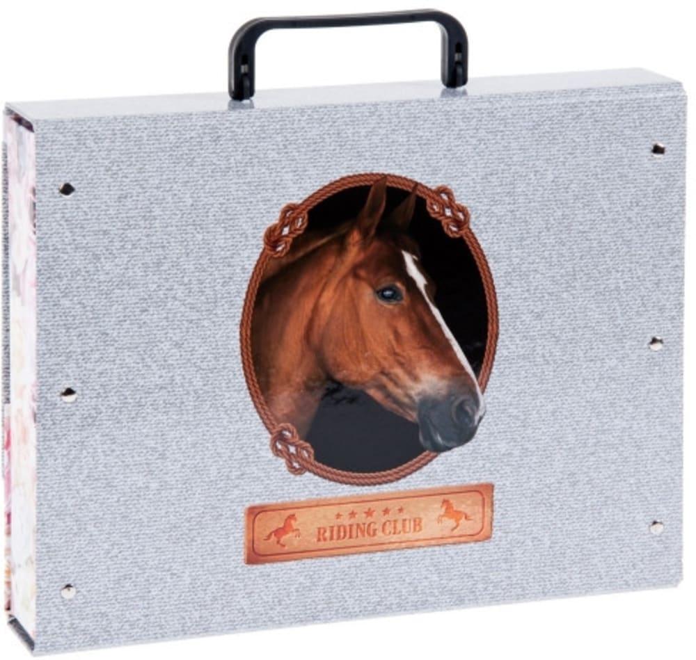 TECZKA Z RĄCZKĄ A4 HORSES STARPAK 453563