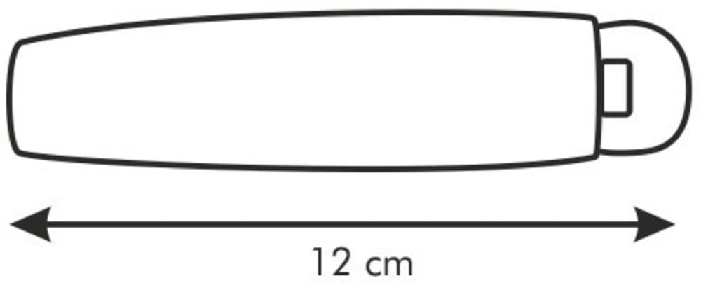 Klipsy do zamykania worków PRESTO 12cm, 6szt
