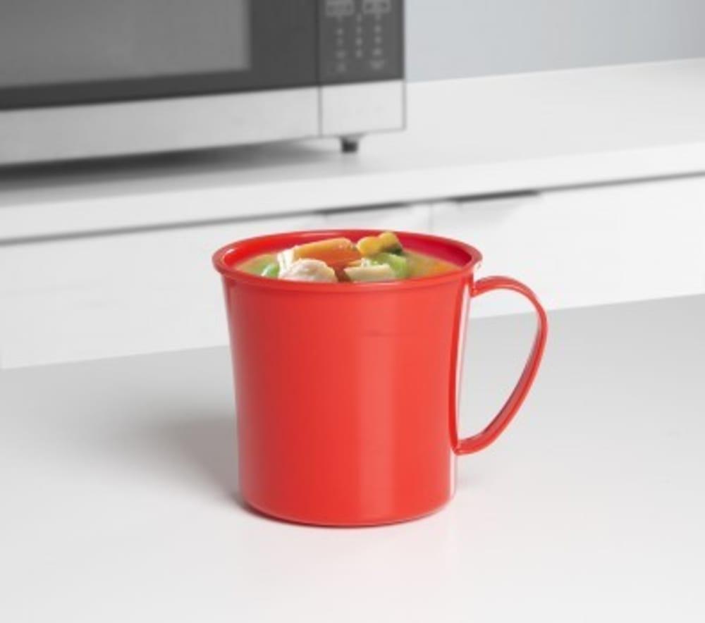 Sistema Pojemnik kubek do mikrofalówki na zupę 0,7L