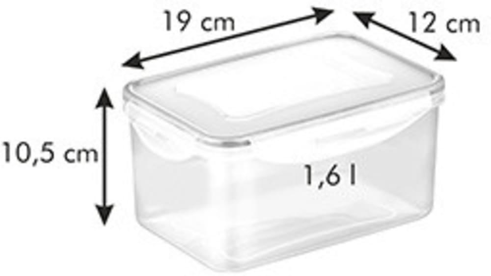 Pojemnik FRESHBOX 1,6 l, głęboki