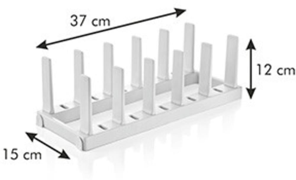 Organizer na patelnie FlexiSPACE 370 x 148 mm