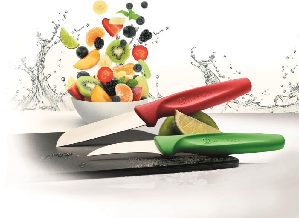 COLOUR Nóż do warzyw spiczasty 8 cm czerwony