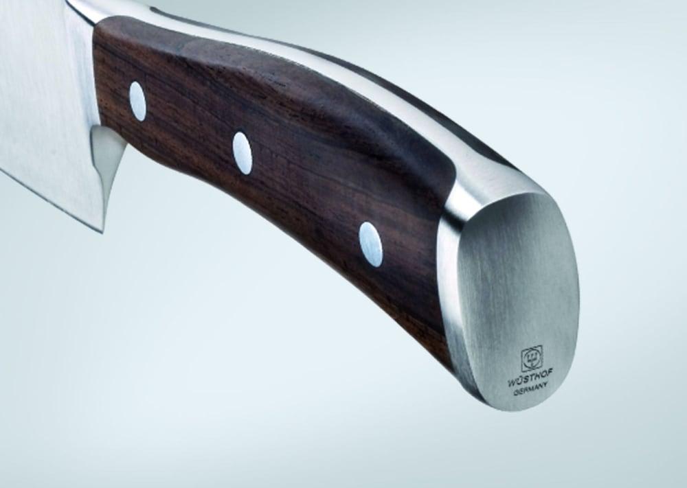 IKON Zestaw - Nóż szefa 20 cm , kuchenny 20 cm i do warzyw 9 cm