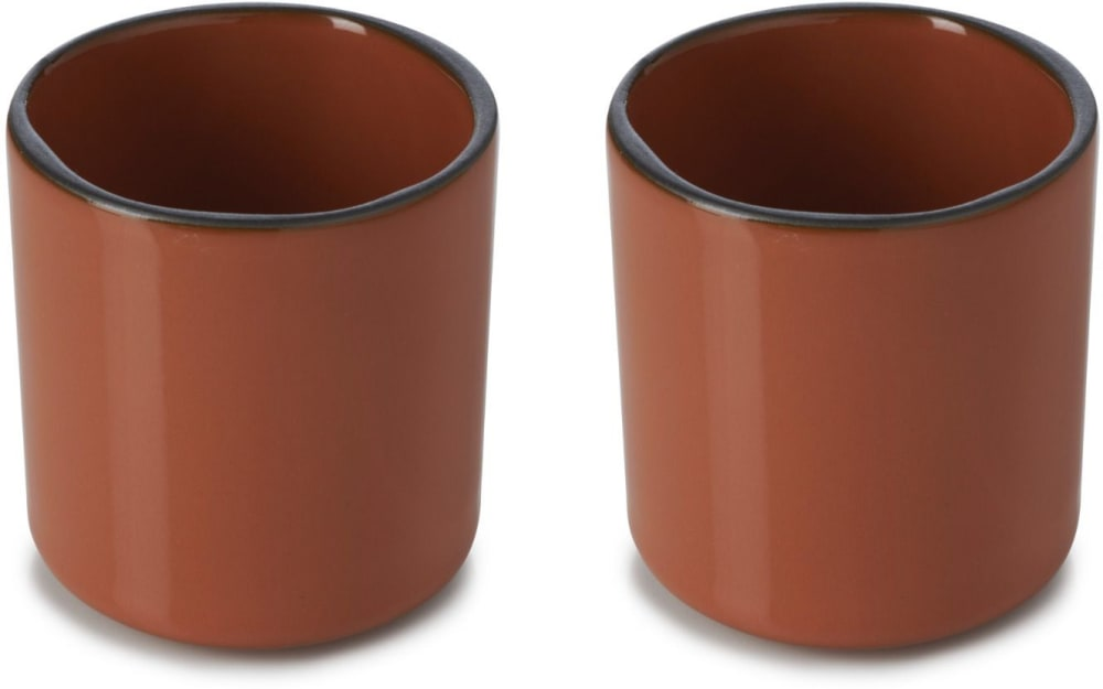 CARACTERE Filiżanka do espresso (2 x 80 ml) Cynamon