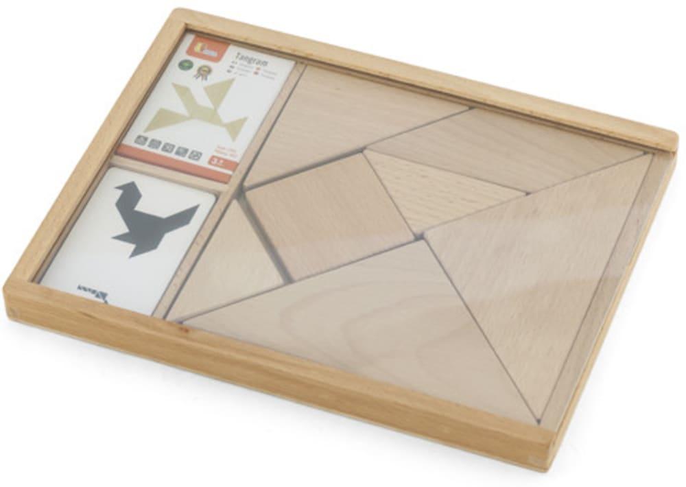 Zabawka drewniana. Tangram VIga