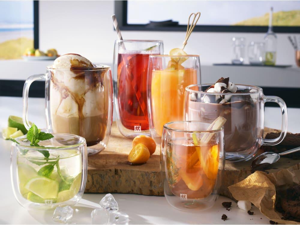 Zestaw dwóch szklanek do herbaty Zwilling Sorrento
