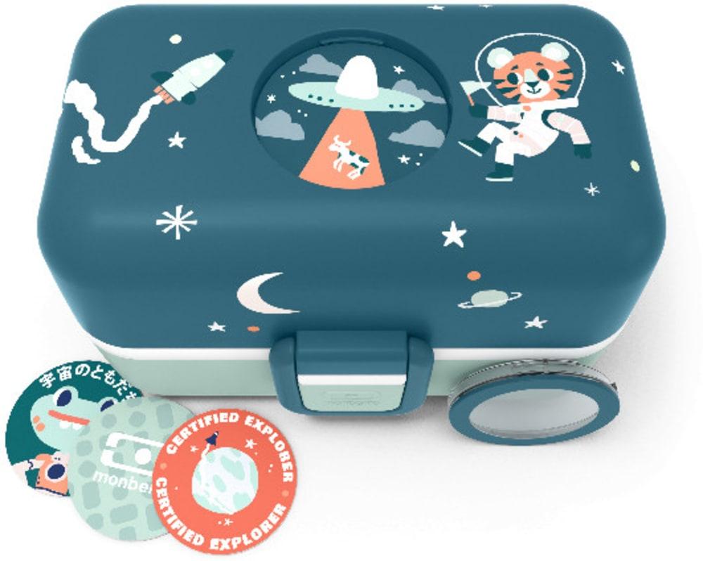 Bento box MonBento TRESOR blue Cosmic