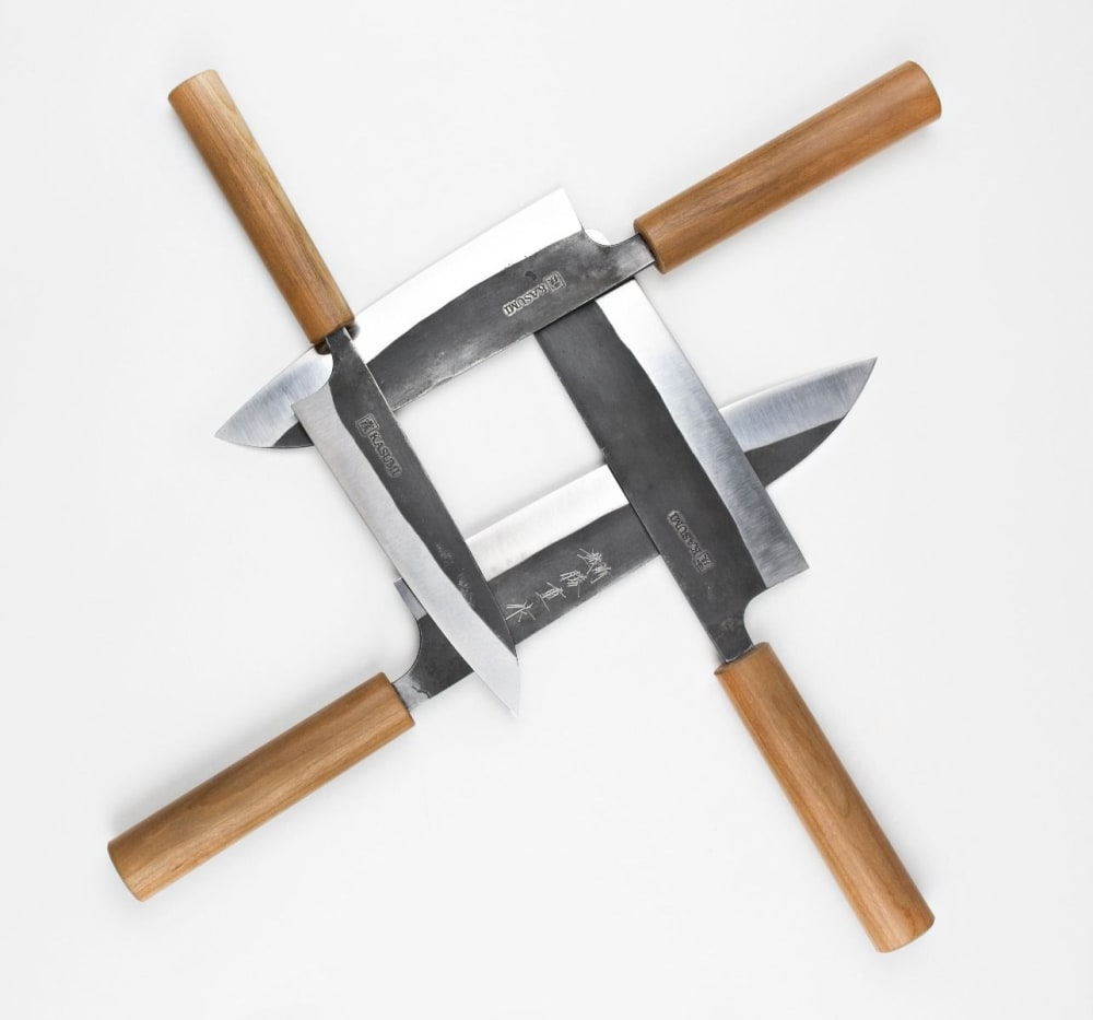 Nóż japoński Nakiri 16,5 cm BLACK HAMMER 2