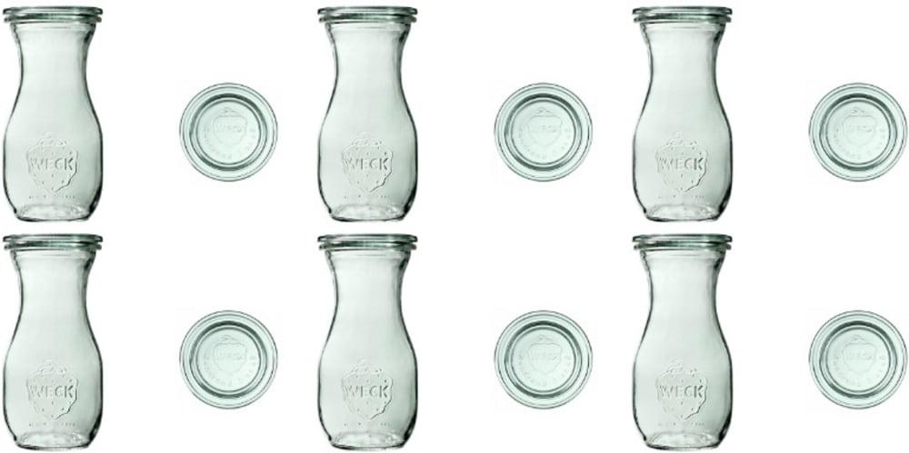 Butelka z pokrywką 290 ml WECK op. 6 szt.