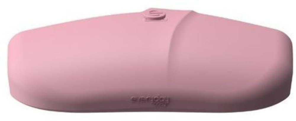 Śliniak silikonowy z kieszonką, różowy, Everyday Baby